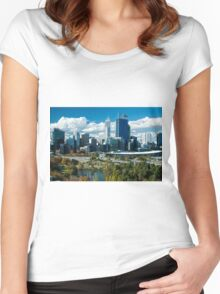 City of Perth Women's Fitted Scoop T-Shirt
