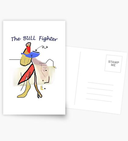 The BULL Fighter Postcards