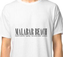MALABAR BEACH address. Classic T-Shirt