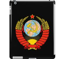 Soviet Coat of Arms iPad Case/Skin