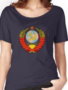 Soviet Coat of Arms Women's Relaxed Fit T-Shirt