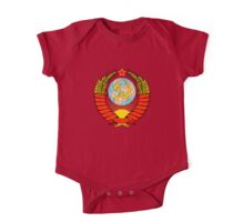 Soviet Coat of Arms One Piece - Short Sleeve