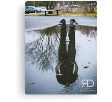 Lost in reflections Canvas Print