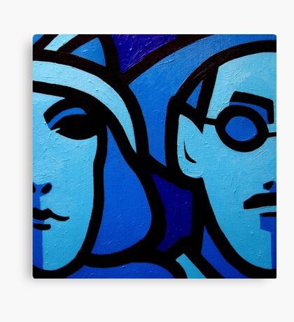 Nora Barnacle and James Joyce Canvas Print
