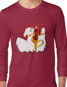 Fire and Life Long Sleeve T-Shirt
