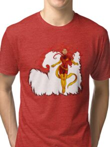 Fire and Life Tri-blend T-Shirt