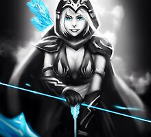Ashe - League of Legends by Waccala