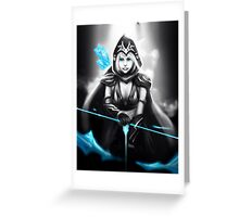 Ashe - League of Legends Greeting Card