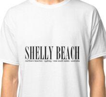 SHELLY BEACH address Classic T-Shirt