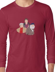 'Only Fools and Horses' Vector Artwork Long Sleeve T-Shirt