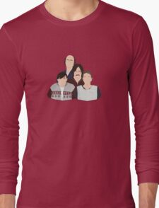 'Derek' / 'Ricky Gervais' / 'Karl Pilkington' Vector Artwork Long Sleeve T-Shirt