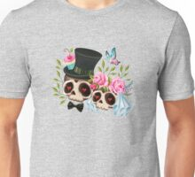 Together Forever - Sugar Skull Bride & Groom Unisex T-Shirt