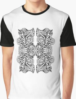 SYMMETRY - Design 014 (B/W) Graphic T-Shirt
