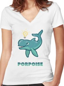 Innovators with Poproise Women's Fitted V-Neck T-Shirt