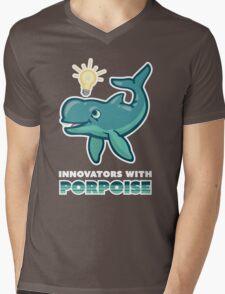 Innovators with Poproise Mens V-Neck T-Shirt
