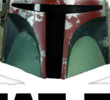 What The Fett? Sticker