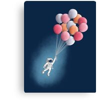 Freefloater Canvas Print