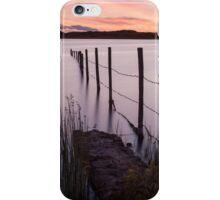 Kenfig Pool posts Porthcawl iPhone Case/Skin