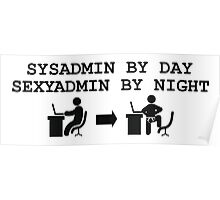 SYSADMIN BY DAY SEXYADMIN BY NIGHT  Poster