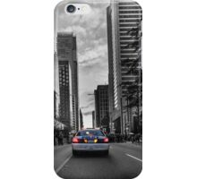 Canadian police car Vancouver iPhone Case/Skin