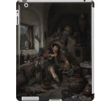 Cornelis Bega (Dutch, ) The Alchemist iPad Case/Skin