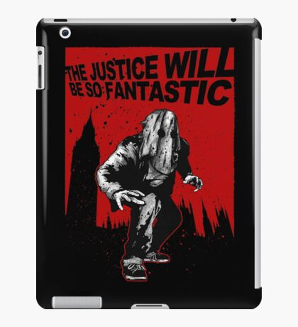 Fantastic Justice iPad Case/Skin