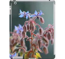 Borage flowers iPad Case/Skin