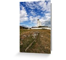 St Catherines Lighthouse Greeting Card