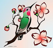 Hummingbird Spring by rhpotter