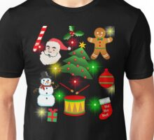 Merry Xmas Gifts, Xmas Party Unisex T-Shirt