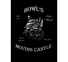 Howl's Moving Castle 2 Photographic Print