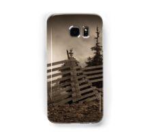 Old fence on Mt Washington Samsung Galaxy Case/Skin