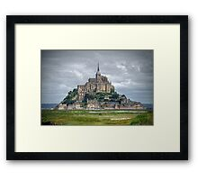 "Mont Saint Michel, Normandy - The ""France"" Collection Framed Print"
