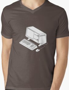 Apple Lisa Mens V-Neck T-Shirt