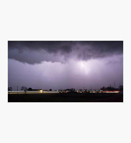 Texas Lightning Photographic Print