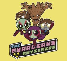 Powerpuff Guardians Kids Tee