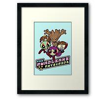 Powerpuff Guardians Framed Print