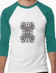 SYMMETRY - Design 015 (Color) Men's Baseball ¾ T-Shirt