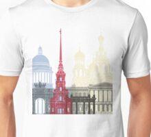 St Petersburg skyline poster Unisex T-Shirt
