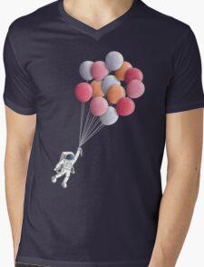 Freefloater Mens V-Neck T-Shirt
