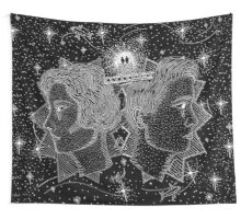 Looking Up For Heaven Wall Tapestry