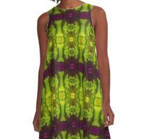 Leafy Green (VN.236) A-Line Dress