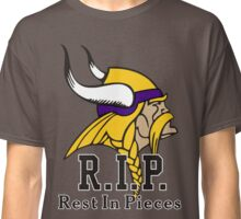 Vikings Rest In Pieces R.I.P. Classic T-Shirt