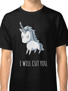 Unicorn lover - I will cut you Classic T-Shirt
