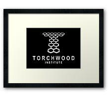 Torchwood Institute logo Framed Print