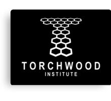 Torchwood Institute logo Canvas Print