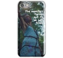 'The monsters turned out to be just trees' // Taylor Swift - OOTW iPhone Case/Skin