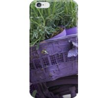 bicycle with lavender iPhone Case/Skin
