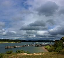 Stormy Skies at the Bluff by Gilda Axelrod