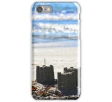 Sand Castles on the Beach iPhone Case/Skin